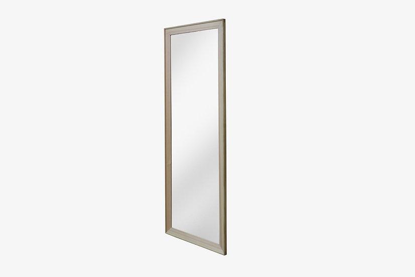 ひのき端材の大工の姿見|壁掛けの大きな鏡