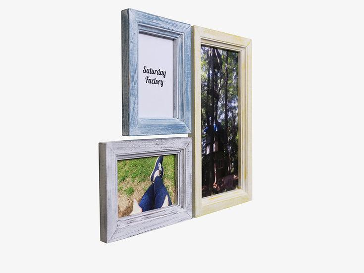 限定色セット001|玄関ドア~石膏ボードの壁|大工のくっつく額縁