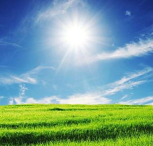 Reiki, Reiki's Benefits, Benefits of Reiki, Blue Sky, Clouds, Green Grass, Peace, Healing, Reiki Healing
