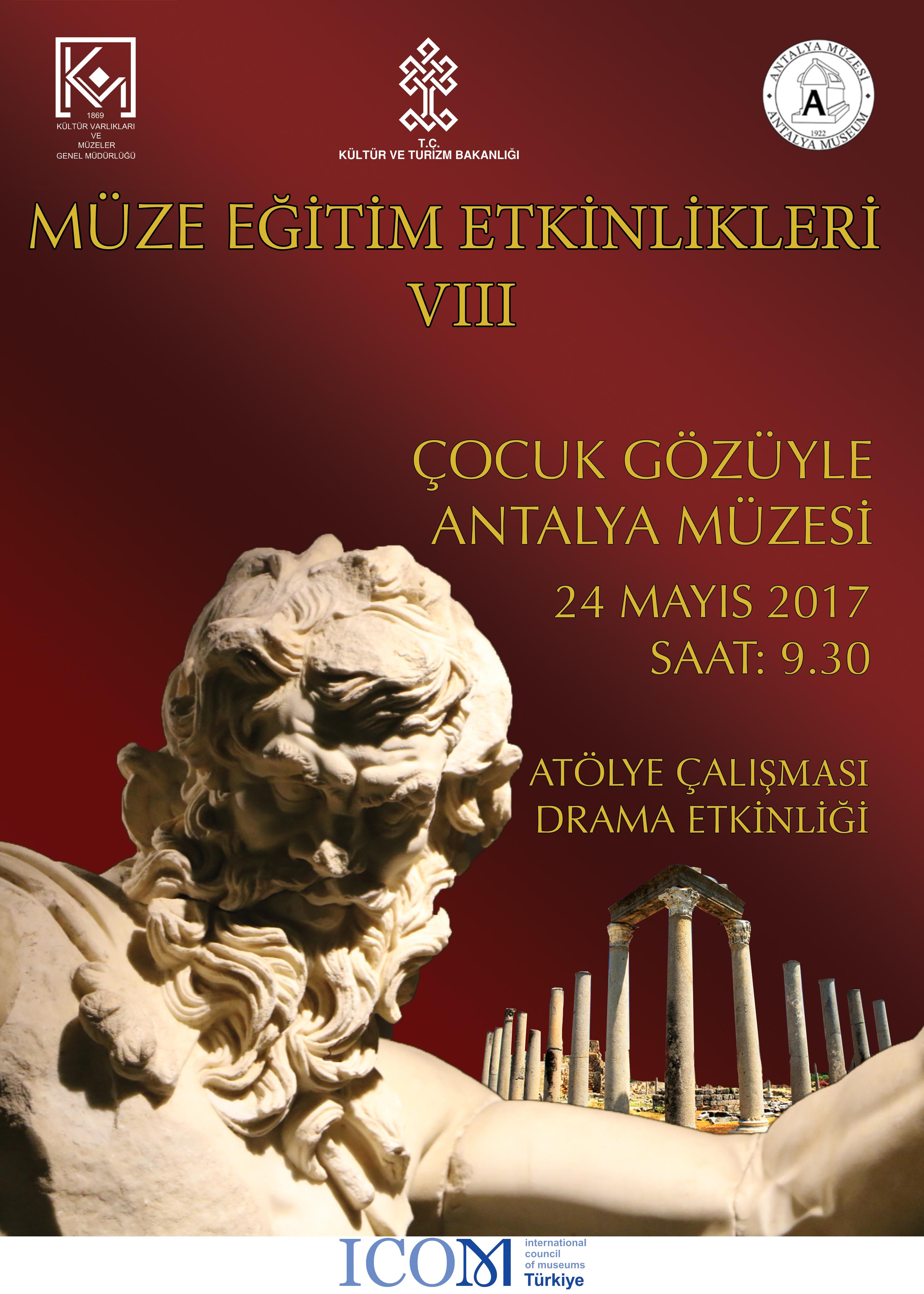 Antalya müzesi afişi 3