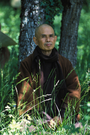 Thich Nhat Hanh, a Vietnamese Buddhist Monk and Peace Activist