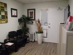 Reception & Clinic Entrance