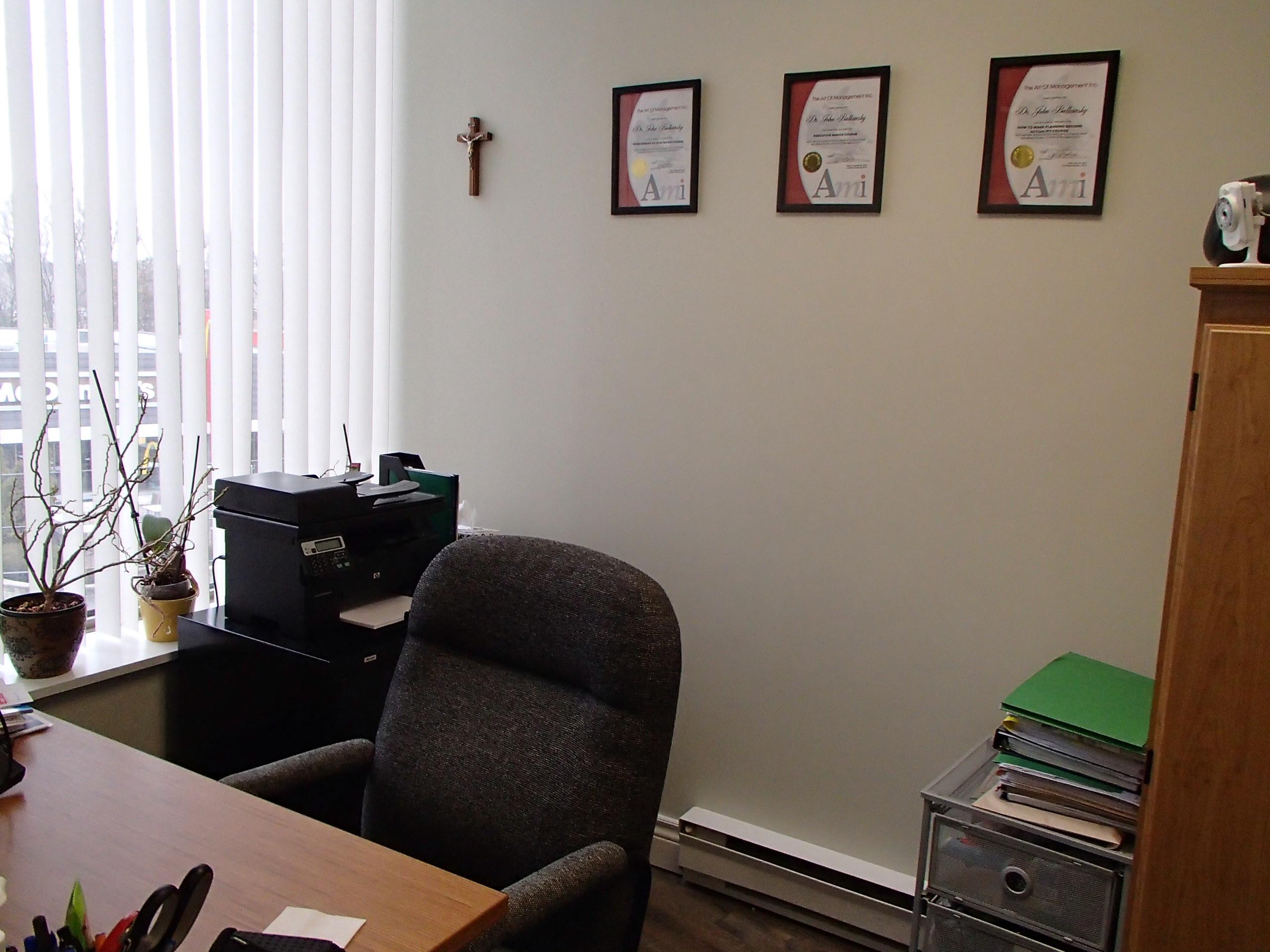 Dr. John Balkansky's Office