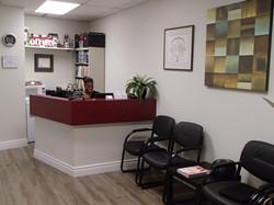 Clinic Reception Desk