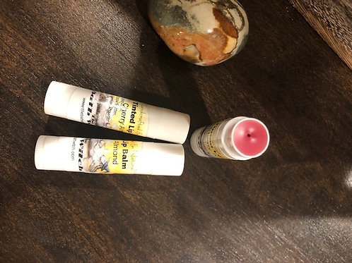 Cherry Almond Tinted Lip Balm