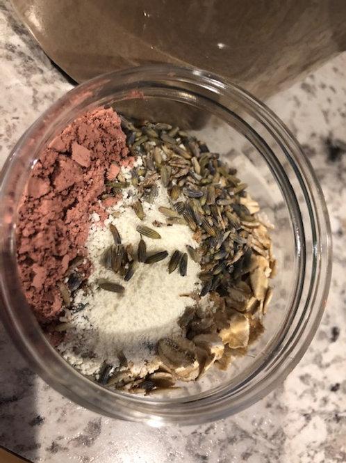 Milk & Flowers Facial cleansing grains