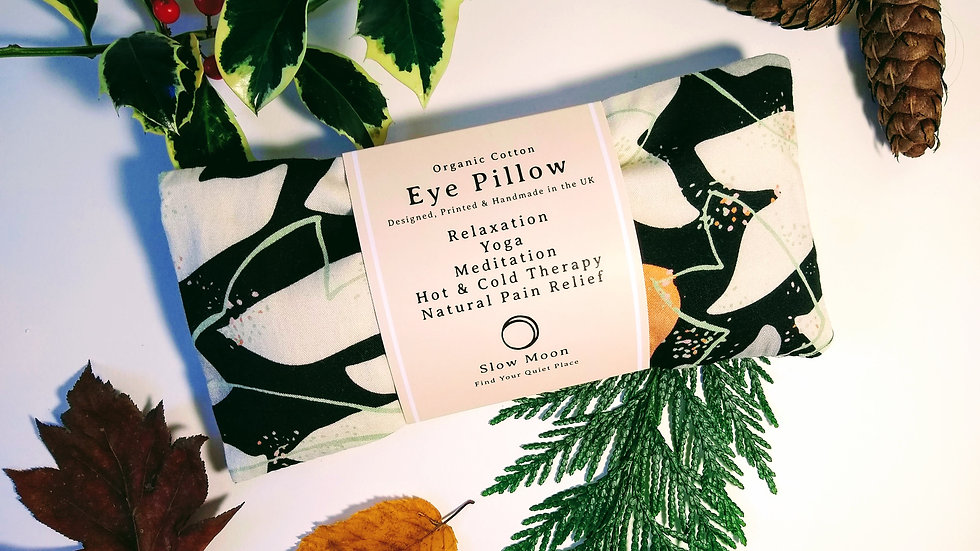 Heated/Cooled Eye Pillow - removable cover - Cosmos