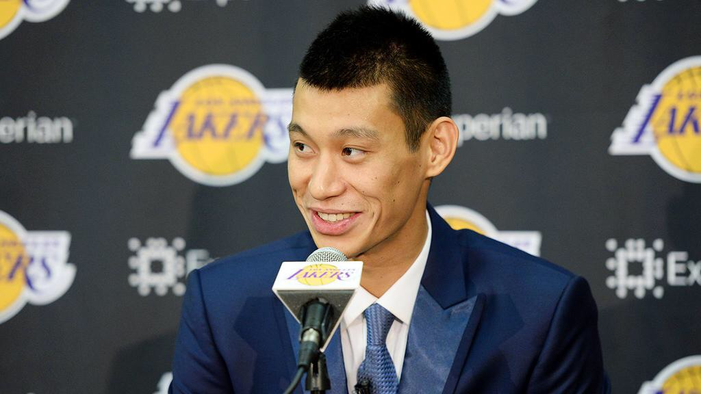Jeremy Lin Lakers Press Confrence