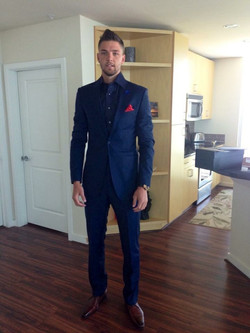 Chandler Parsons Onsite Fitting