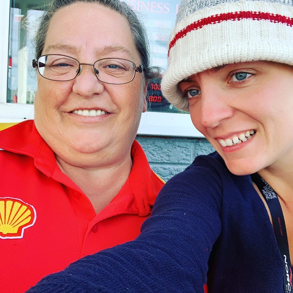 Shell Lady who helped Marlene out