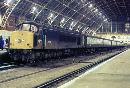 45132 St Pancras on 15th December 1985 -