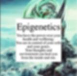 Epigenetics of Healing