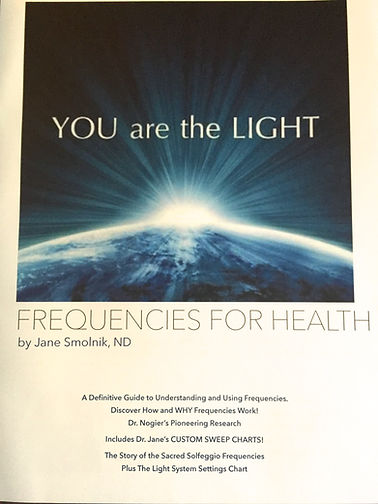 Light therapy and frequencies