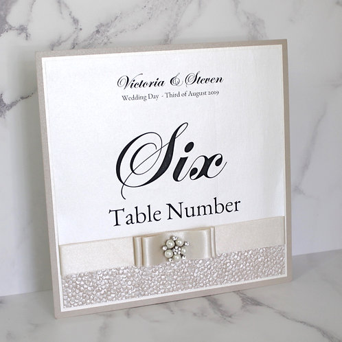 Lindsay Table Number - Luxury