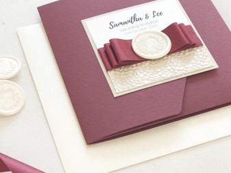 Wedding Stationery Tips - Wedding Stationery Timeline: a guide for when to order your invitations