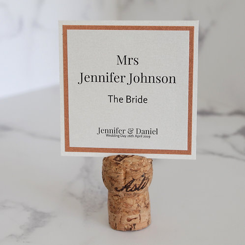 Stacey Place Card - Sophisticated