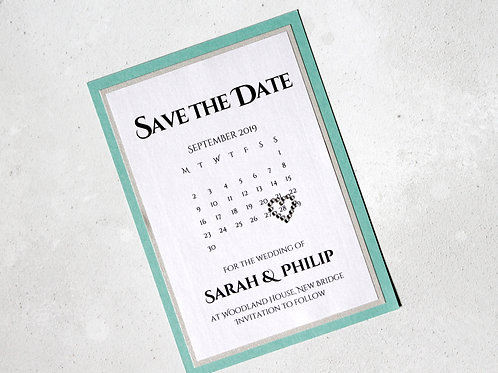 Save the Date - Sophistcated