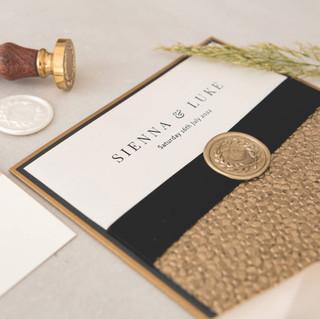 Luxury handmade wedding stationery scotland