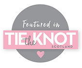 Featured in Tie the Knot Scotland Magazine Handmade by Zara personalised weddind stationery