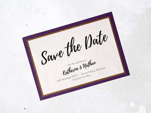 Save the Date - Elegant