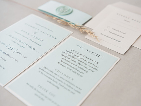 Wax Seal Wedding Stationery- 10  things to include in your Wedding Invitations