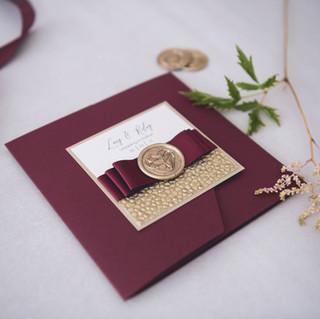 luxury personalised wedding invite dumfries
