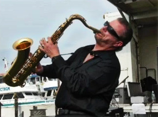 Classic Rock saxophonist