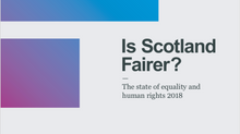 Is Scotland Fairer?