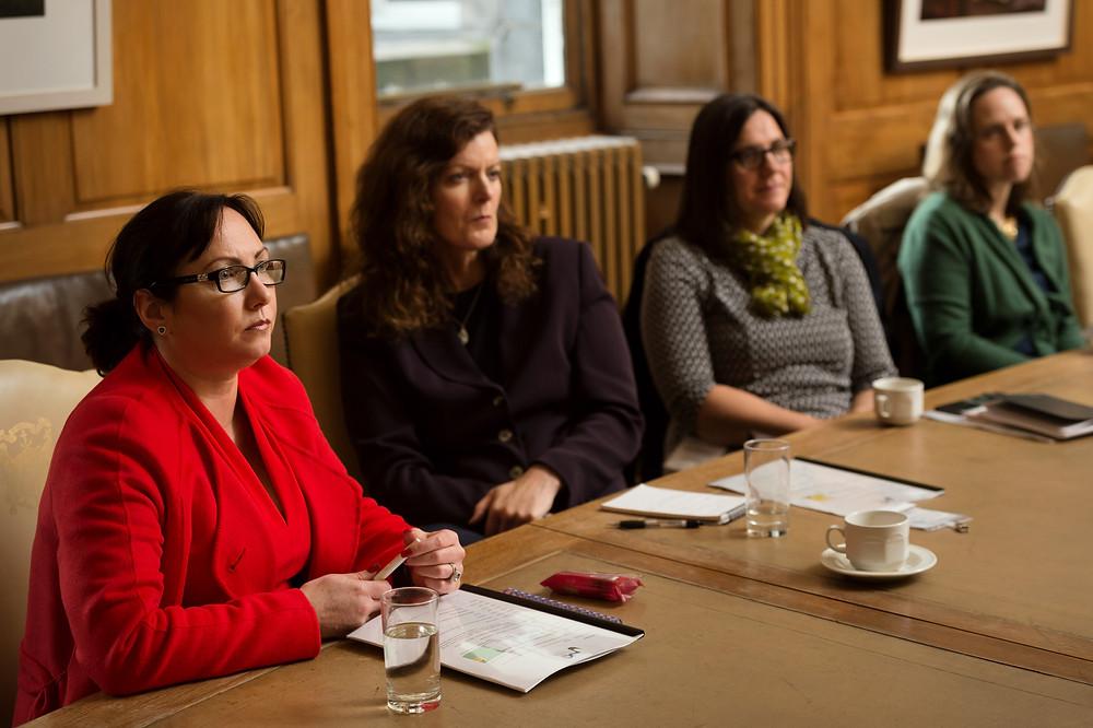 WES Ambassadors Margaret Anne Craig, Lynn Mann, Fiona Turnbull & Suzanne Doyle-Morris