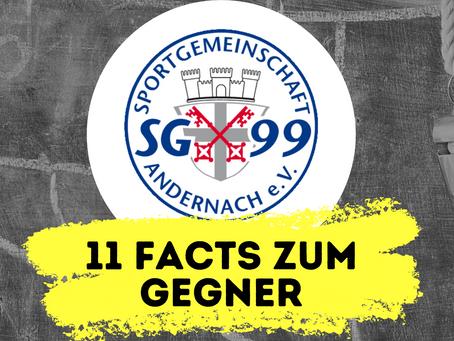 11 Facts zum kommenden Gegner: SG 99 Andernach