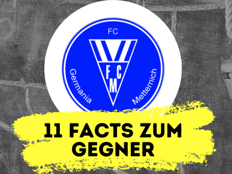 11 Facts zum kommenden Gegner: FC Metternich