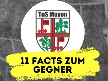 11 Facts zum kommenden Gegner: TuS Mayen