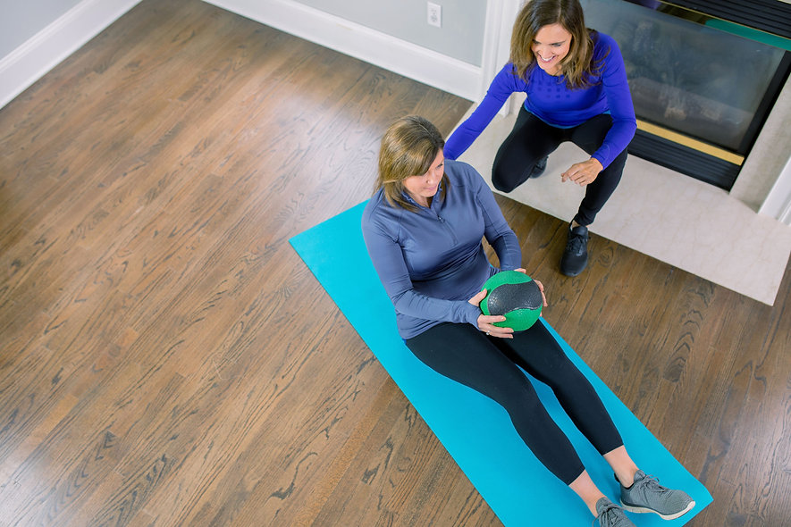 mobile fitness training - personal training that come to your home in west chester PA
