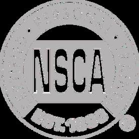 NSCA certification logo