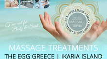 Massage Treatments at THE EGG Venue 2019