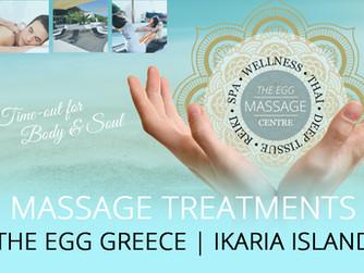 Massage Treatments at THE EGG Venue 2019