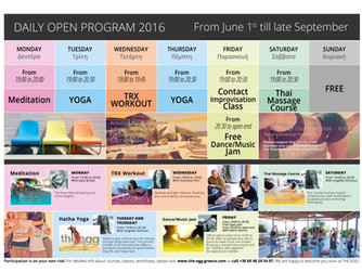 New Open Program 2016