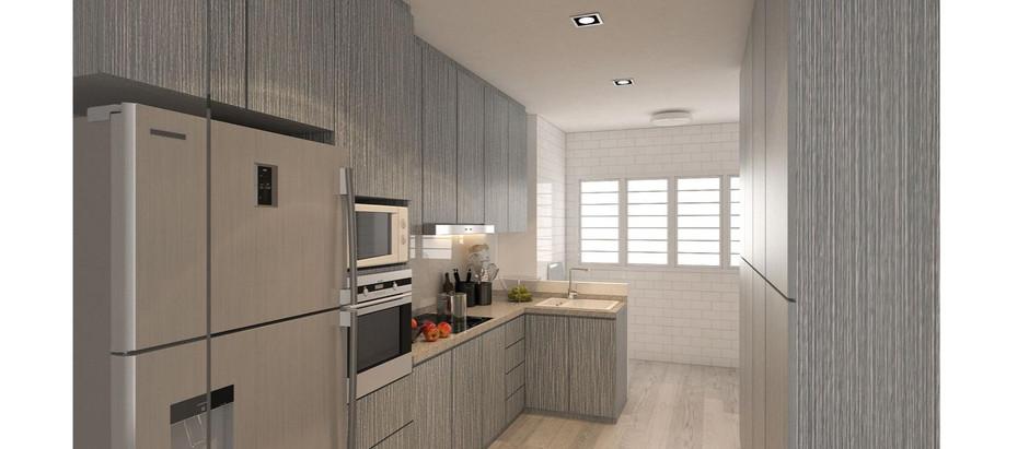 Residential: Kitchen Interior Design @  Jurong East