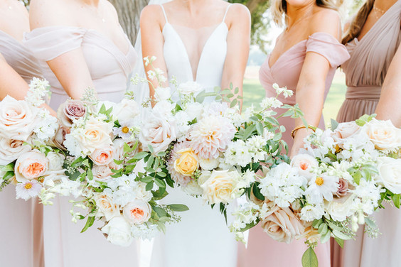 Bouquets, Bridesmaids