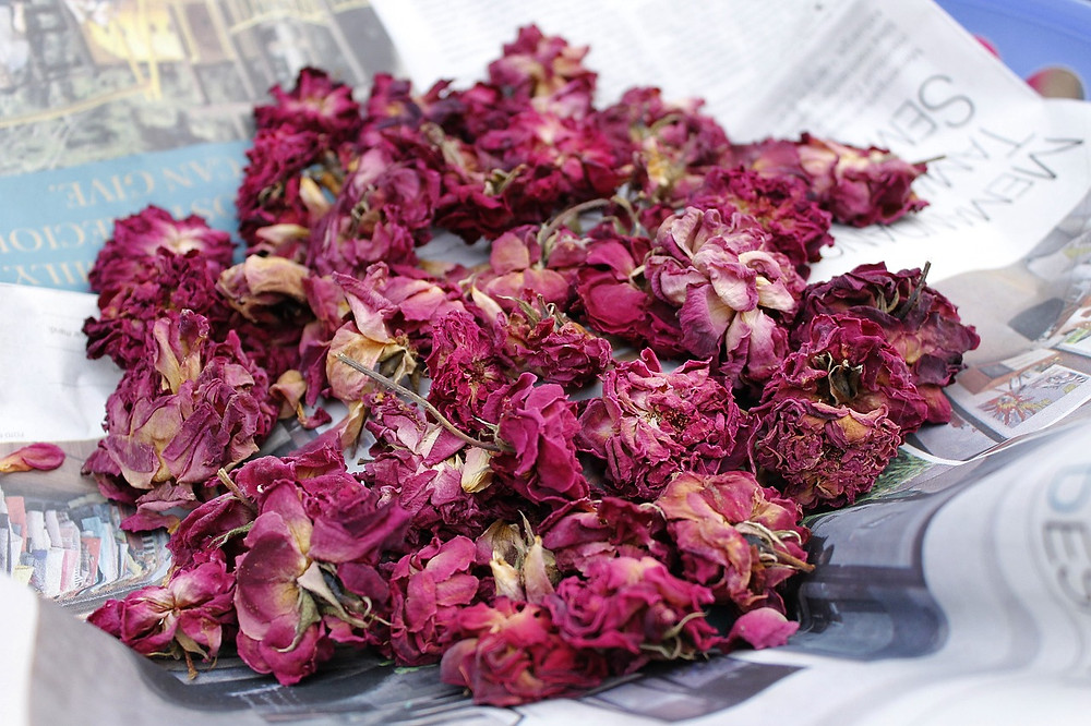 Rust and Thistle, potpourri, dried bouquet