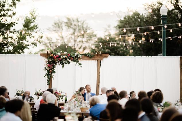 Boise Train Depot, Wedding Florist Boise