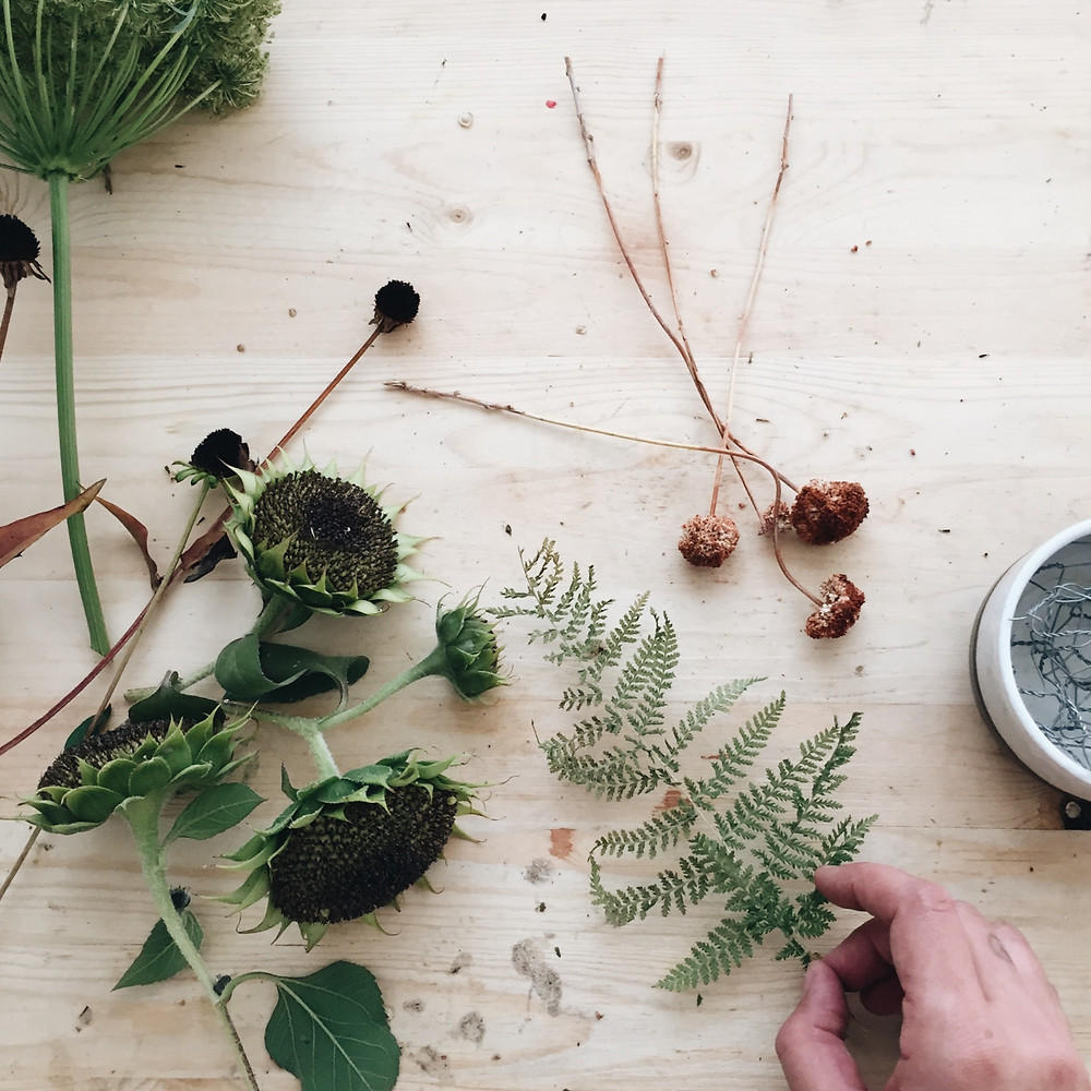 How to foraged flowers, boise florist