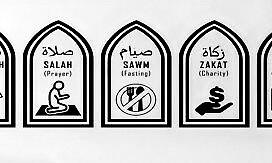 I 5 pilastri dell'Islam.