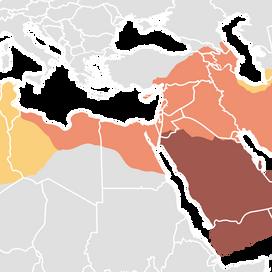L'espansione islamica dopo la morte di Maometto.
