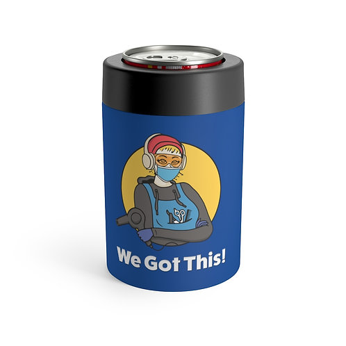 We Got This! Sunny D the Barber Fundraiser KOOZIE Can Holder