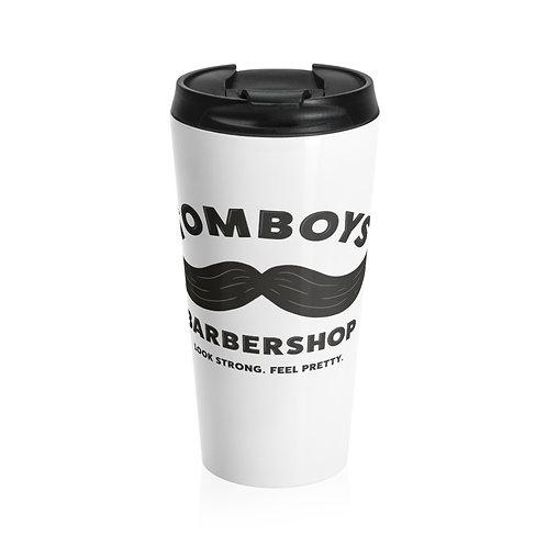 Tomboys Barbershop Stainless Steel Travel Mug