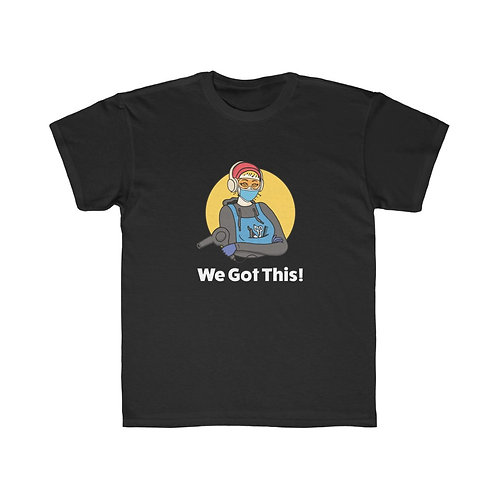 KIDS We Got This! Sunny D the Barber Regular Fit Tee