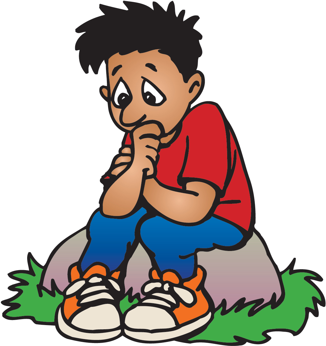Image result for child anxiety clipart