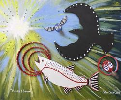 Salmon Raven Art Auction