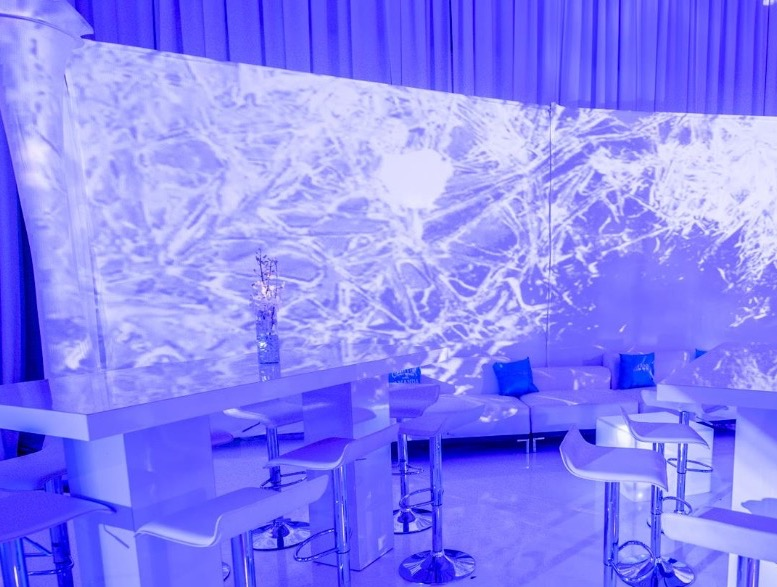 Video Mapping Backdrop